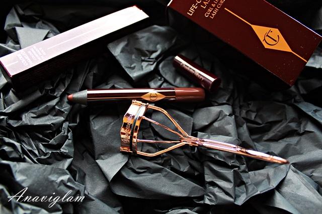 Charlotte Tillbury Color Chameleoon Bronzed Garnet Life Changing Eyelash Curler