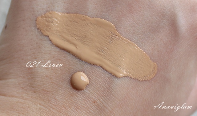 Diorskin Star Foundation swatch 021 Linen