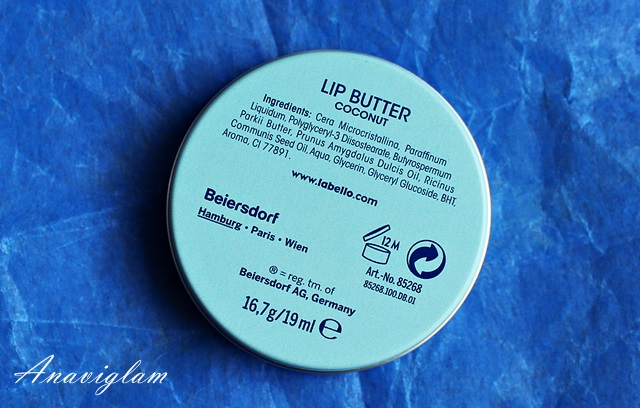 Labello Lip Butter Ingredients