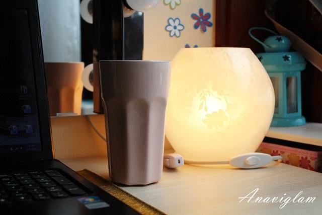Stolna lampa i šalica - Ikea