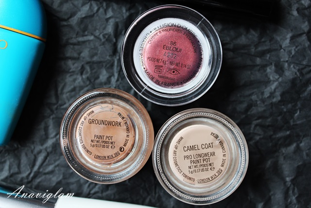 Chanel D'Ombre & MAC paint pot