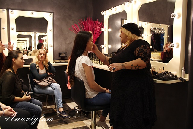 Illamasqua makeup radionica