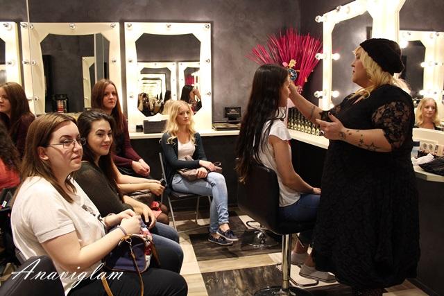 Illamasqua zagreb makeup radionica