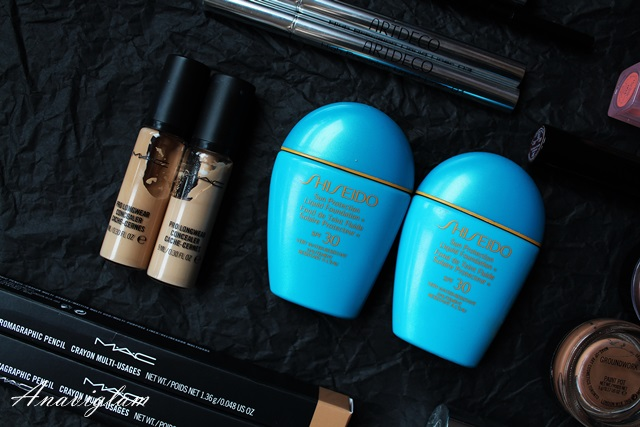 Shiseido foundation spf30 & MAC Prolongwear Concealer