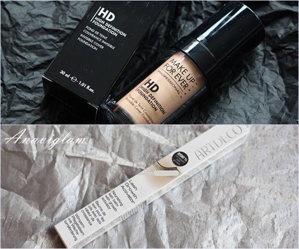 makeup for ever & artdeco