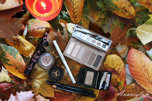 fall winter eyes makeup