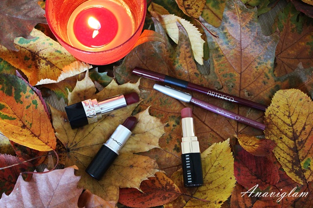 fall winter lips