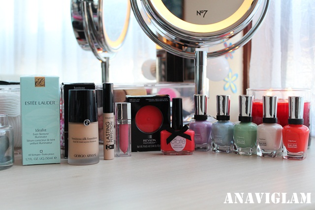 Estee Lauder Giorgio Armani Maybelline 2000 Collection Revlon Ciate Sally Hansen