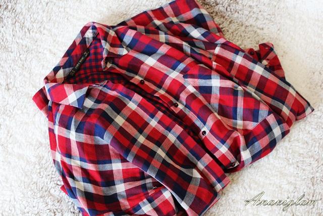 Zara crvena košulja2