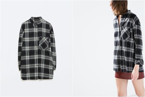 Zara siva košulja