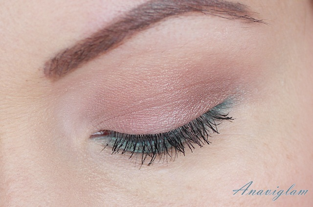 2 Lancome My French Palette on eyes day look