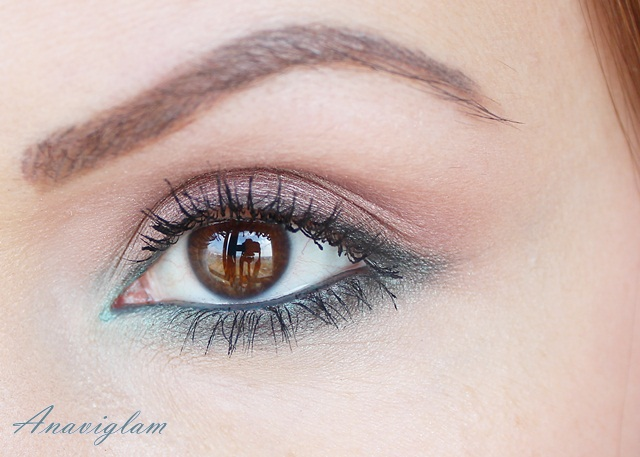 8 Lancome My French Palette on eyes night look