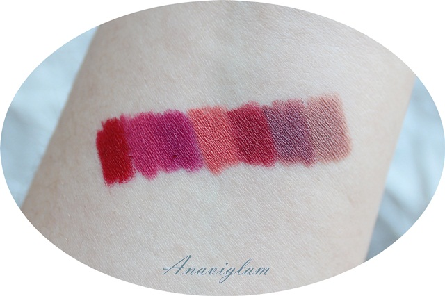 Essence longlasting lipliner swatches