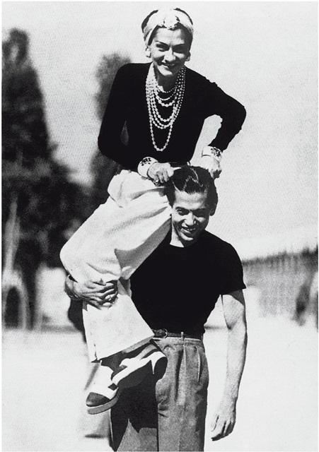 Gabrielle Chanel et Serge Lifar