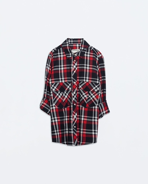 Zara Checked shirt