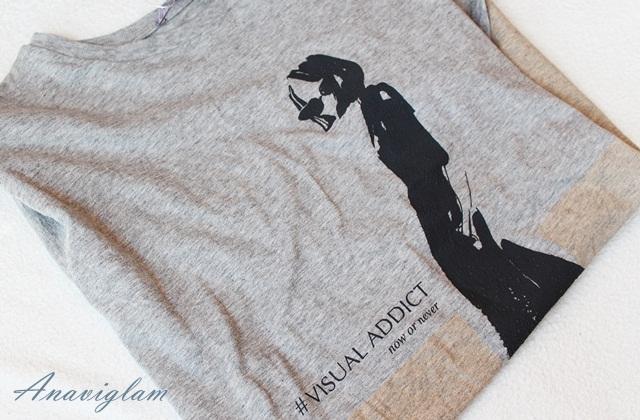 Zara silhouettes print t-shirt blog