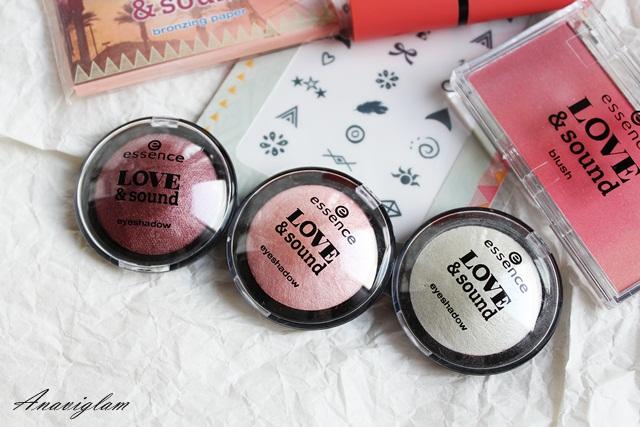 Essence Love&Sound eyeshadow 1