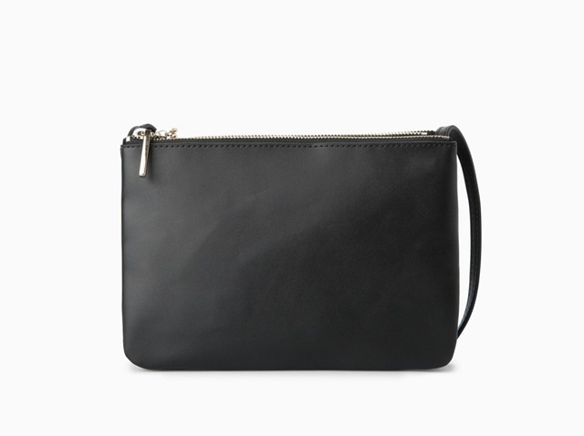 Mango Cross-Body Triple Bag
