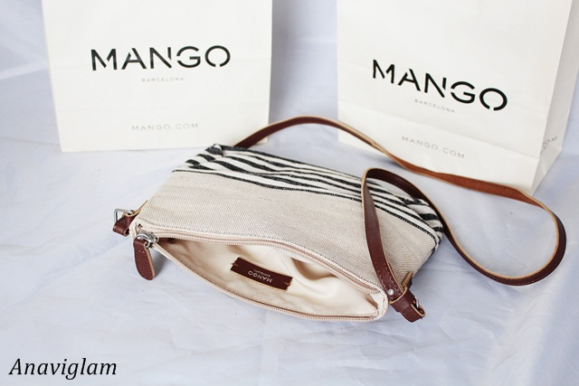 Mango Jute Cross-Body Bag 2