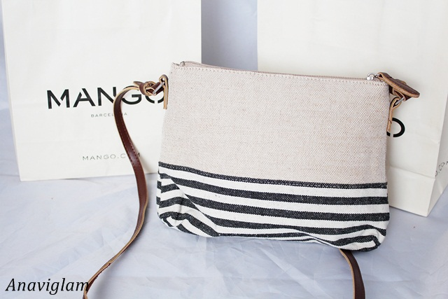 Mango Jute Cross-Body Bag 3
