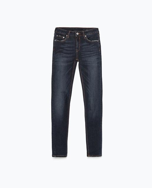 Zara Skinny modal trousers