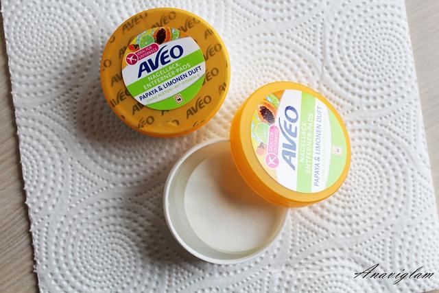 18 polish remover AVEO