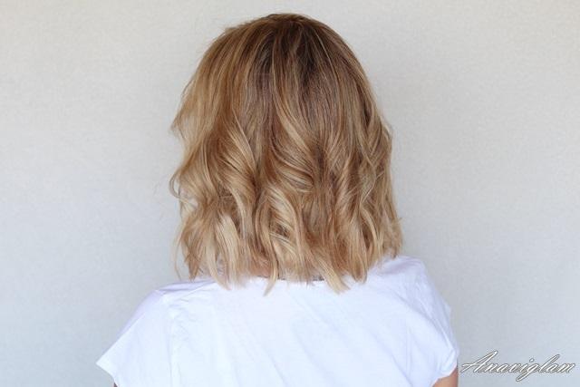 6 long bob curls