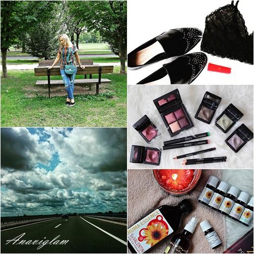 Anaviglam jesen kiša oluja Zara makeup
