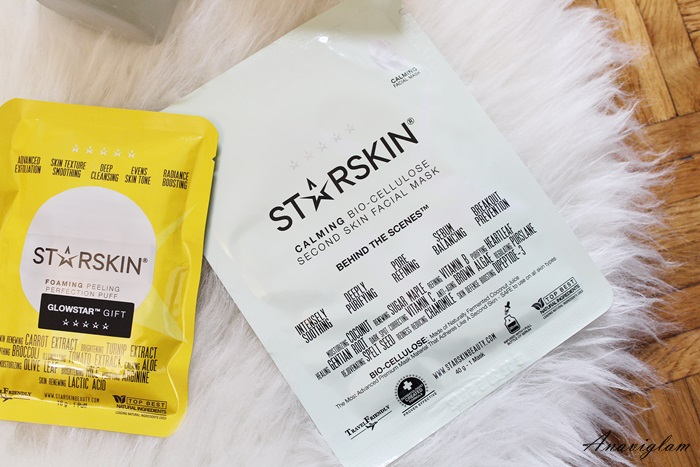 Starskin Calming Bio-Cellulose Second Skin Facial Mask