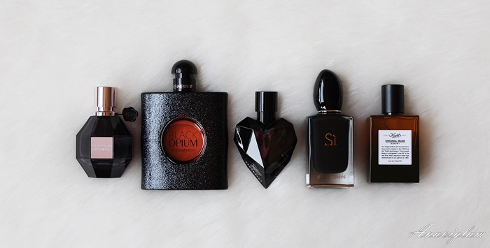Perfume PIcks for autumn and winter 2015