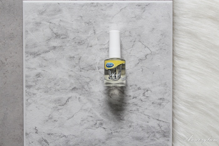 8 Scholl Velvet Smooth oil