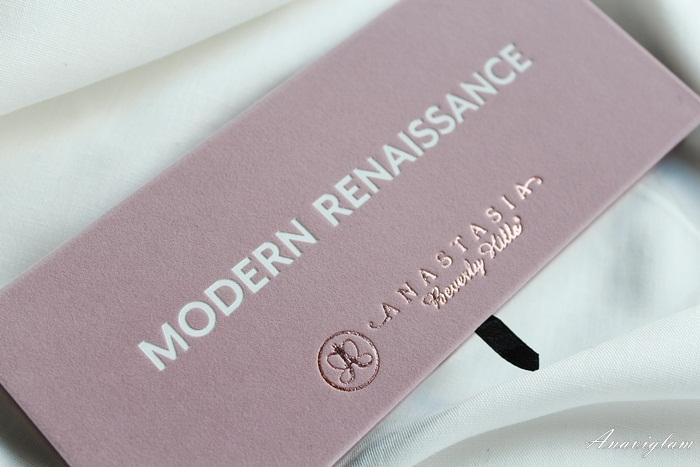 2 Anastasia Beverly Hills Modern Renaissance palette