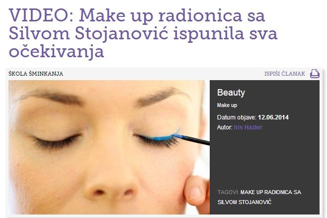 Makeup radionica - video