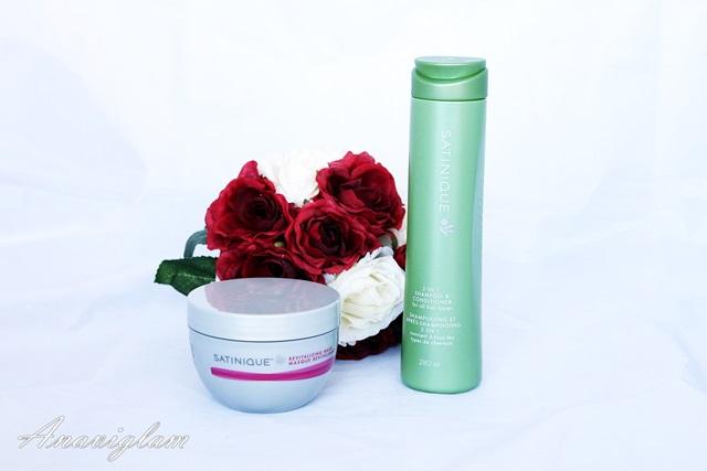 Santinique 2in1 shampoo & Revitalizing Mask