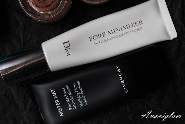 Dior Pore Minimizer Primer & Givenchy Mister Mat