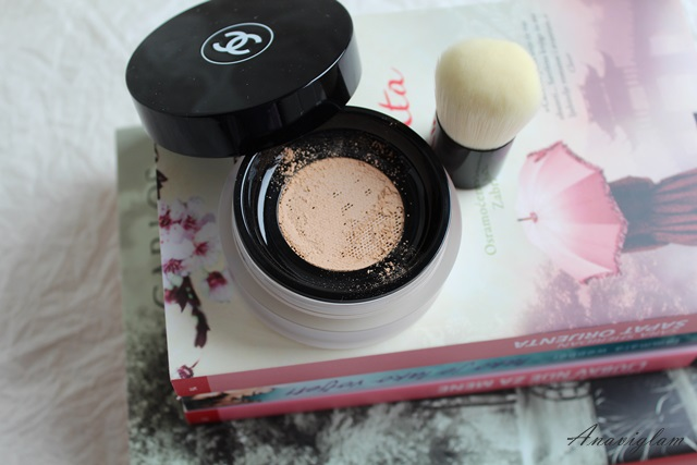 Chanel Vitalumiere Loose Powder Foundation with mini Kabuki