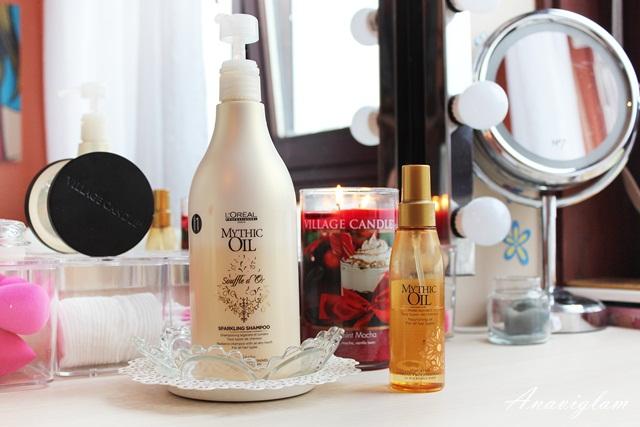 12 hair care L'Oreal Professionel oil