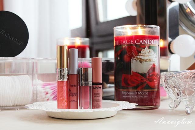 6 lip gloss Yves Saint Laurent Tarte Maybelline New York NYX