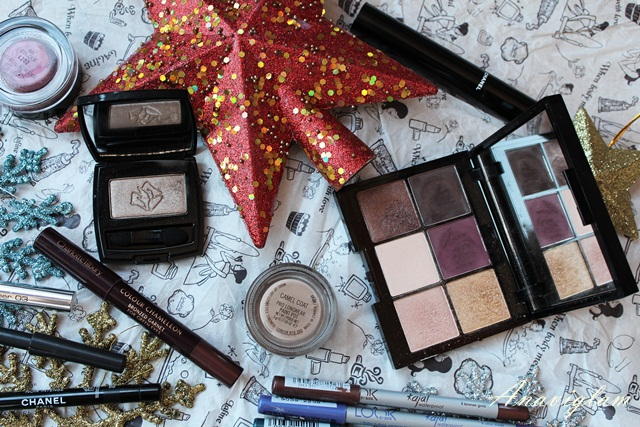 Kiko Lancome MAC Charlotte Tilbury best eyeshadows for 2014