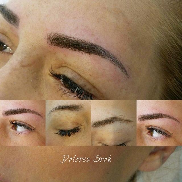 iscrtavanje obrva trajni make up