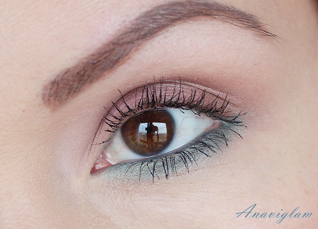 1 Lancome My French Palette on eyes day look