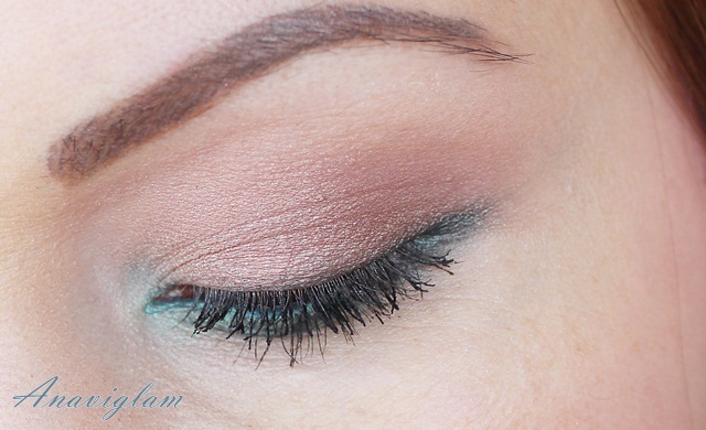 9 Lancome My French Palette on eyes night look