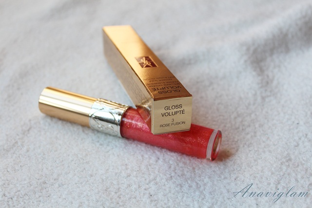YSL Gloss Volupe 3 rose fusion