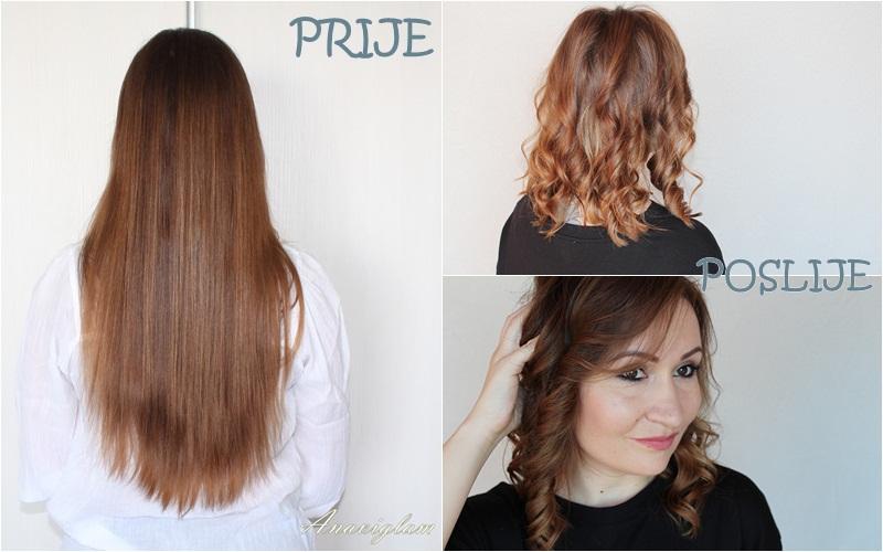 haircut before and after šišanje prije i poslije
