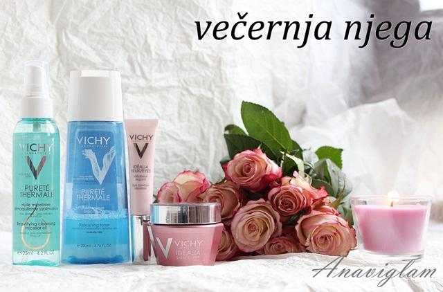 Vichy večernja njega lica