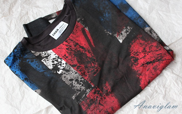 Zara printed t-shirt blog