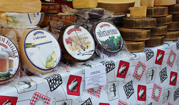 18 cheese market in Zagreb