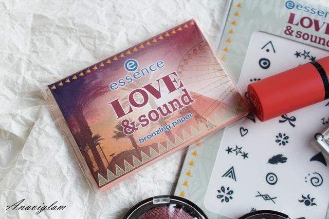Essence Love&Sound bronzing paper 1