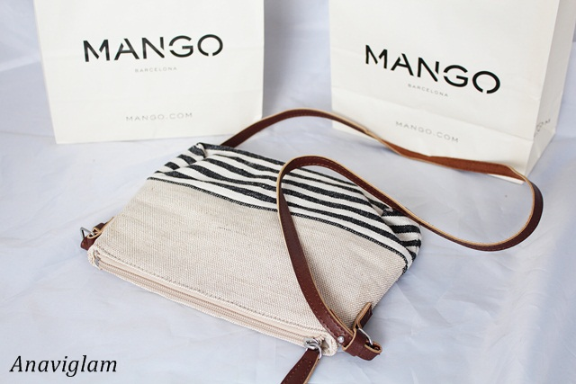Mango Jute Cross-Body Bag 1