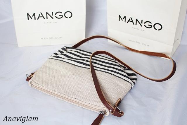 Mango Jute Cross-Body Bag 1